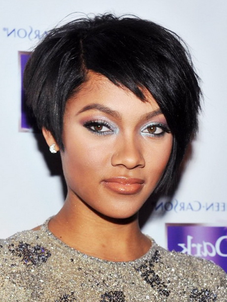black short haircuts for women 2014