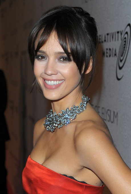 Black Tie Hairstyles Long Hair with Jessica Alba Bridesmaids Hair also ...