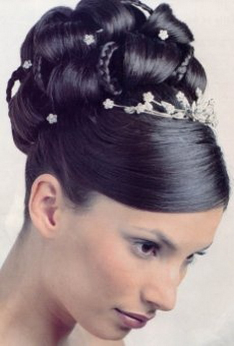 Black Updo Hairstyles For Weddings