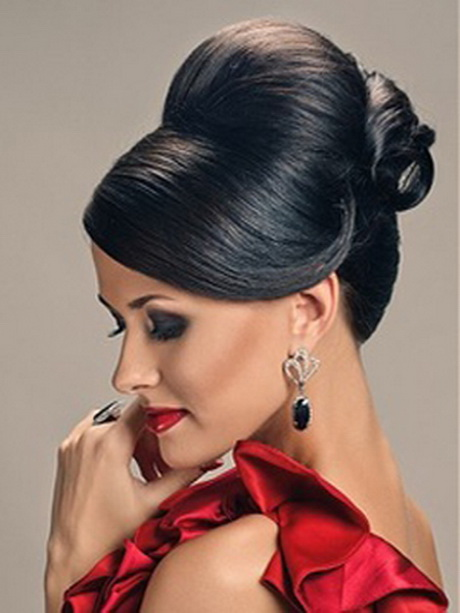 brief black hairstyle for wedding ceremony