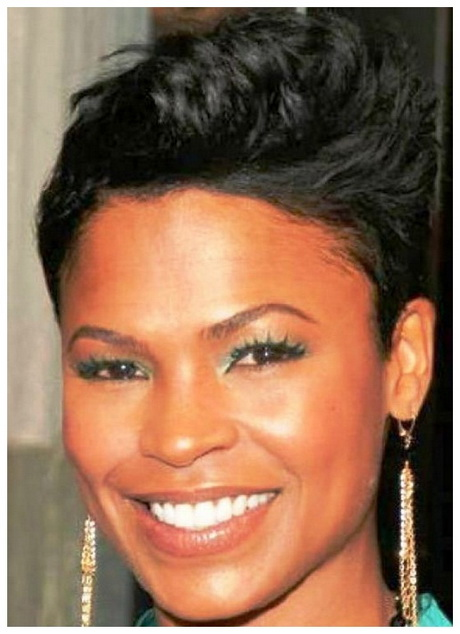 black women hairstyles for round faces