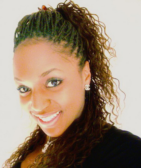 Popular Micro Twist Braids Hairstyles