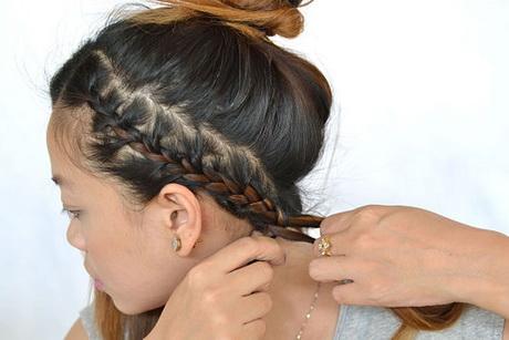 braid headband hairstyle