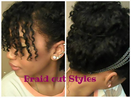 braid out hairstyles