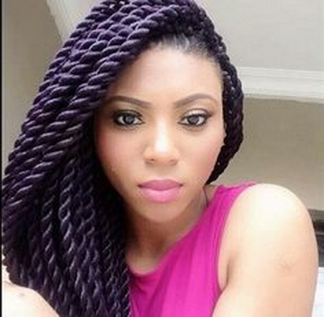 Model Senegalese Twist Hairstyles 2015  NationTrendzCom