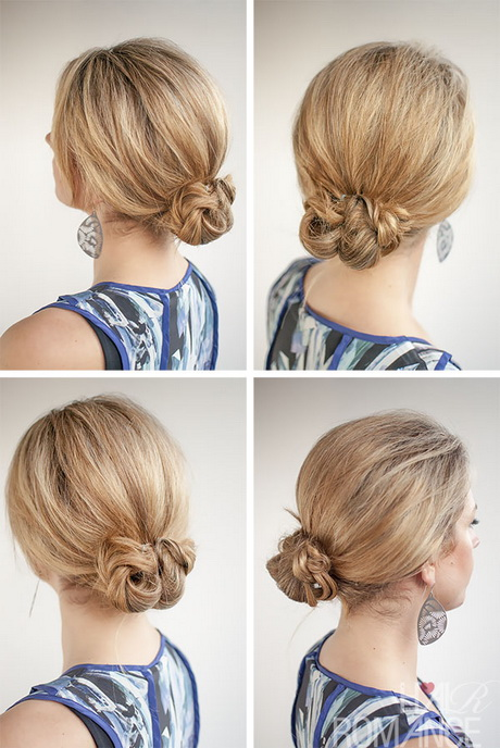 Cute Braided Bun Hairstyles For Short Hair : Braided bun hairstyle
