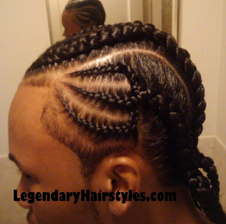 Braided dreads hairstyles