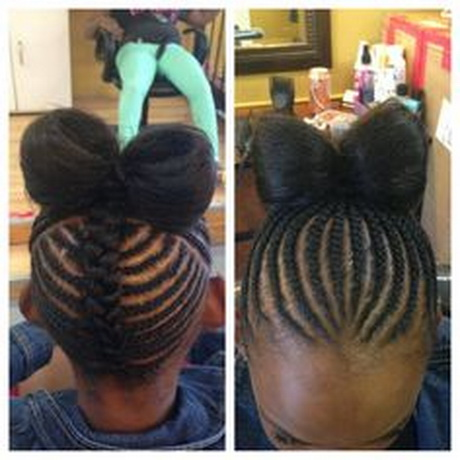 Weave Hairstyles For Kids Cool Easy Hairstyles | Black Models Picture