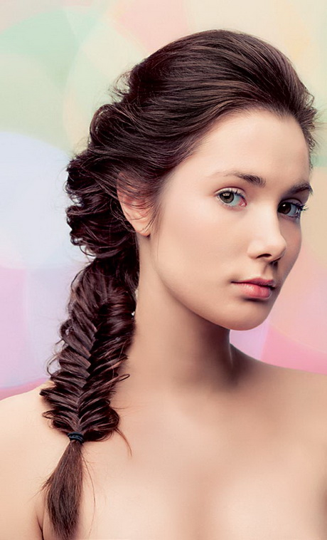 Easy Braided Hairstyles For Medium Hair Braided hairstyles for...