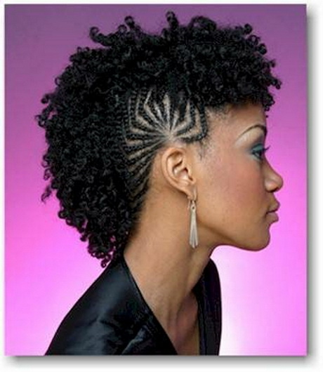 Braided Mohawk Hairstyles Black Girls