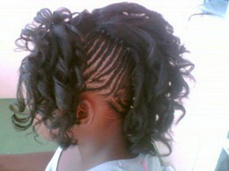 Braided Mohawk Hairstyles For Kids