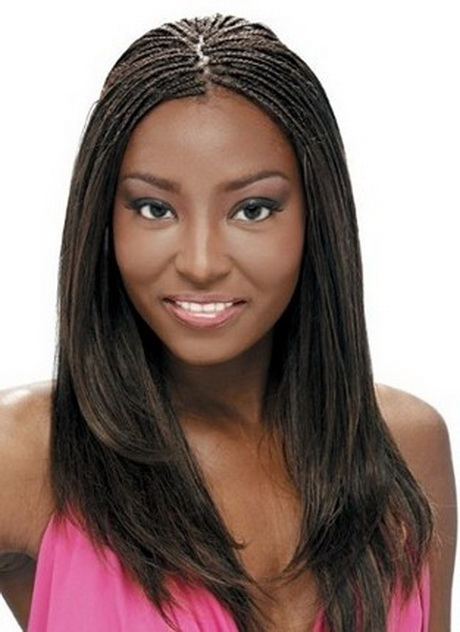 Weave Hairstyles with Braids