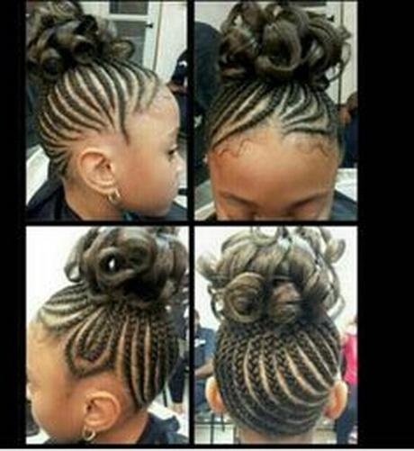 Braiding hairstyles for black kids