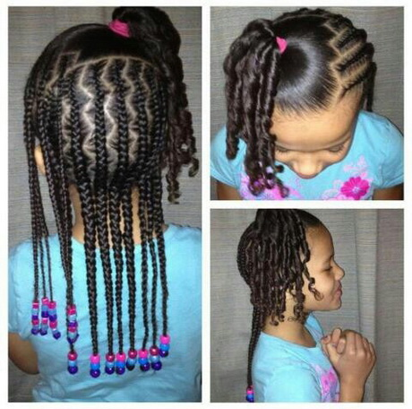 The gallery for --> Kids Braids With Beads