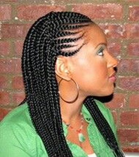 Hair Braiding Technique Using Extension 84