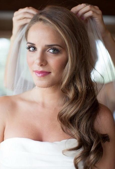 Bridal Down Hairstyles