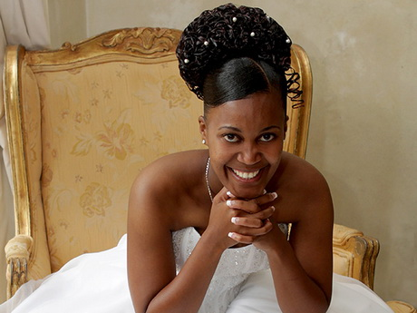 wedding hairstyles for black brides : ... Black Women Bridal Makeup Black Brides Makeup Bridal Hairstyles Bridal