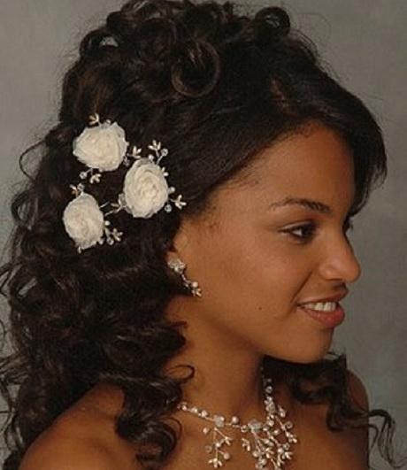 Wedding Hairstyles For Short Hair Black : Bridal hairstyles for black women