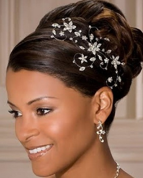50 Wedding Hairstyles For Nigerian Brides And Black: Bridal Hairstyles For Black Women