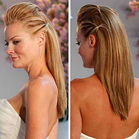 Bridal Hairstyles For Straight Hair