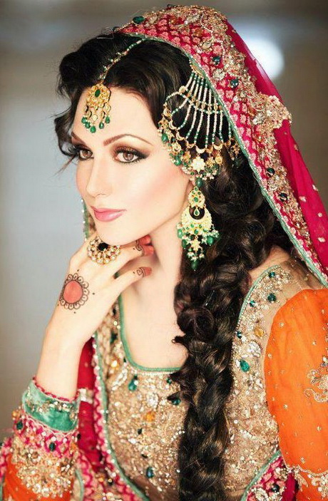 Bridal Hairstyles In Pakistan