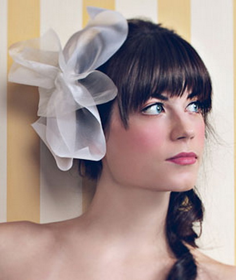 Wedding Hairstyle With Bangs: Bridal Hairstyles With Bangs