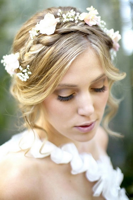 Bridal Updo Flower : Bridal hairstyles with flowers
