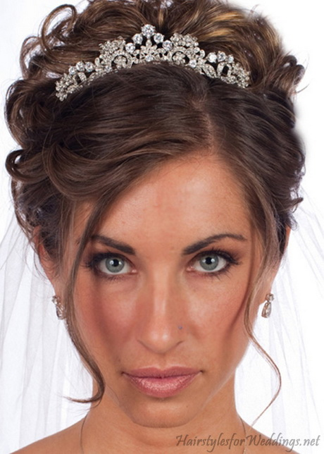 Bridal Hairstyles With Tiara
