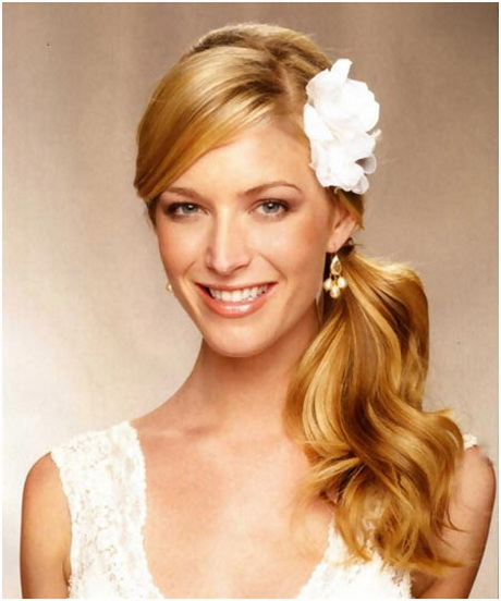simple hairstyles for men : to sport a simple yet nice looking christian wedding bridal hairstyle ...