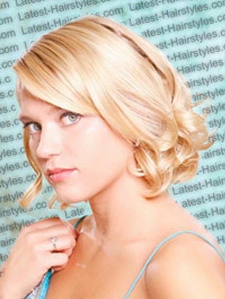 Bridesmaid Hairstyles Short Hair