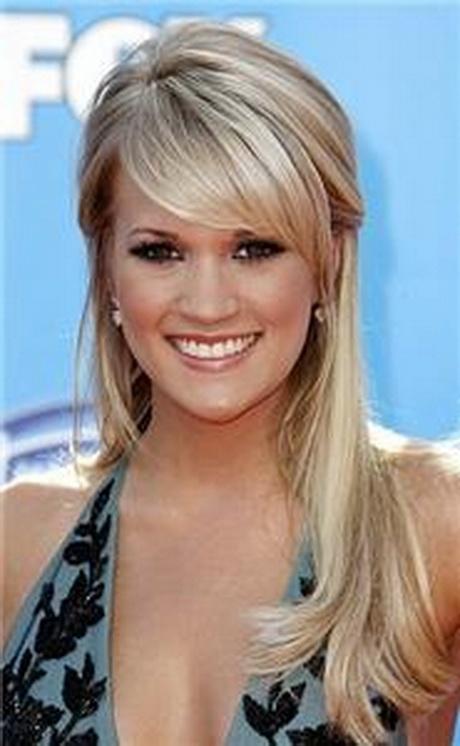 Carrie underwood hair straight