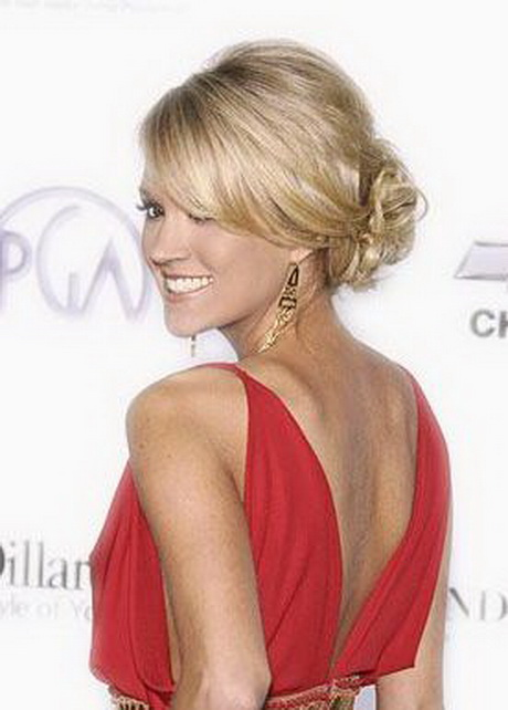 Carrie underwood prom hairstyles