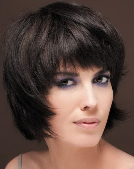 chin length bangs are a part of layered hairstyles long layers add chin length layered haircuts