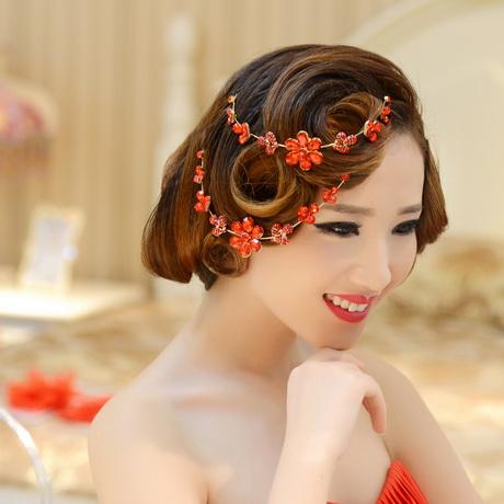 chinese wedding hair accessories