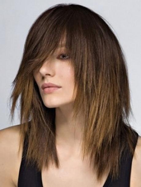 Модные челки 2017 на средние волосы с челкой женские