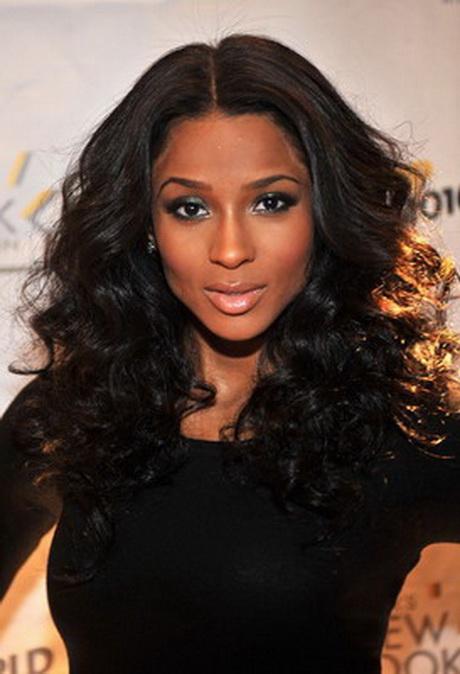 Ciara Curly Hairstyles