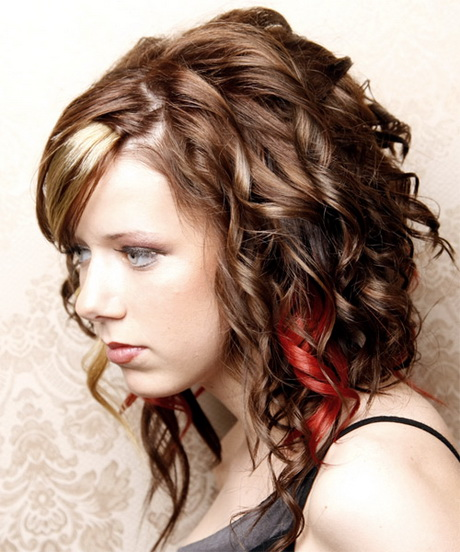 Cute Hairstyles For School With Curls : Cool curly hairstyles for girls