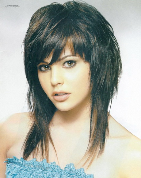 HD wallpapers fun layered hairstyles