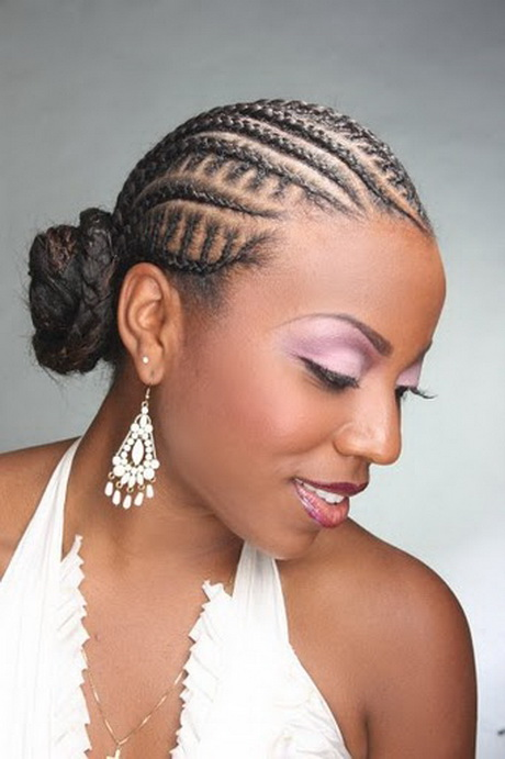 Formal Hairstyle With Cornrows Cute Cornrow Hairstyles