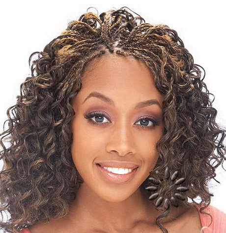 The bouncy curls can be natural or not doesn't matter. Throw in the ...