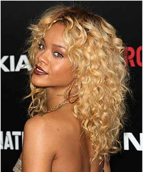 Curly Celebrity Hairstyles