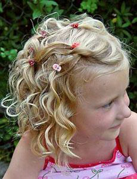 Hairstyles For Curly Hair Child : Curly hairstyles for little girls