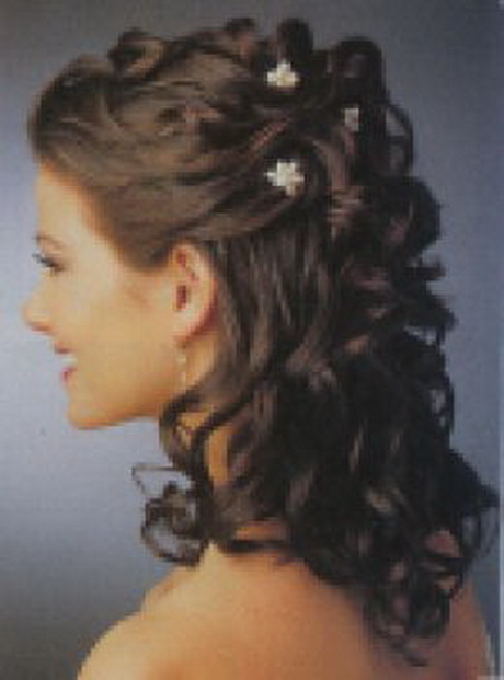 curly hairstyles for wedding. Black Bedroom Furniture Sets. Home Design Ideas
