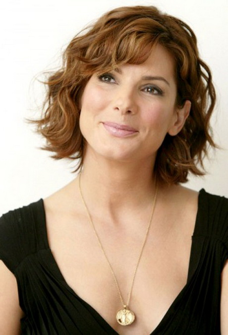 Short curly hairstyles for women over 50 for those with curly hair