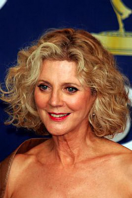 Great Look for Wavy Hair. Hairstyles for Women Over Age 50. Blythe