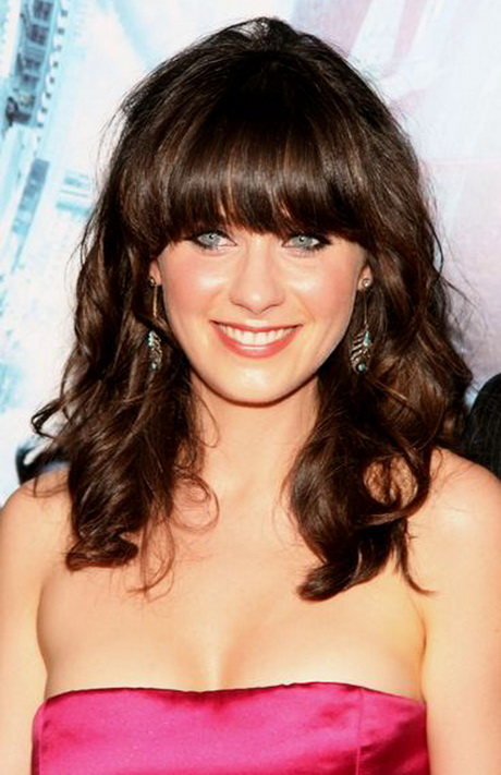 Curly Hairstyles With Fringe