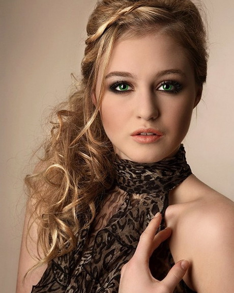 Party Hairstyles 2013 For Women: Curly Party Hairstyles