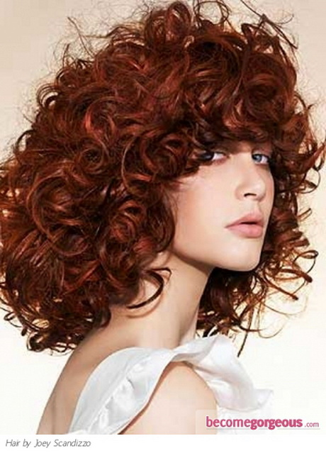 current hairstyle trends : Curly red hairstyles