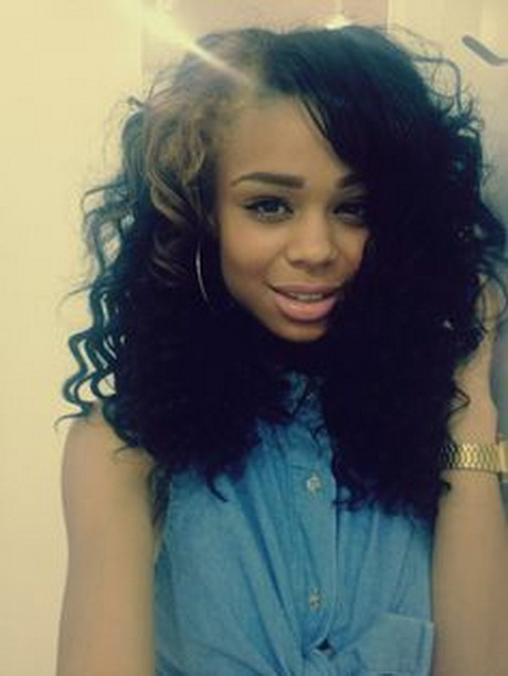 Black Girls With Long Curly Hair Tumblrcelebrity Sew In Hairstyles