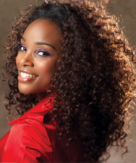Hairstyle Curly Hair Weave
